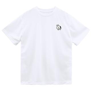 はまりうさぎ Dry T-shirts