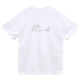 長老の散歩(黒) Dry T-Shirt