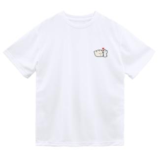 餃子とくま ドライTシャツ