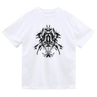 フラグメント(黒ver) Dry T-shirts