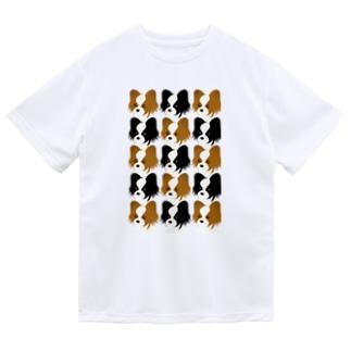 パピヨン Dry T-shirts