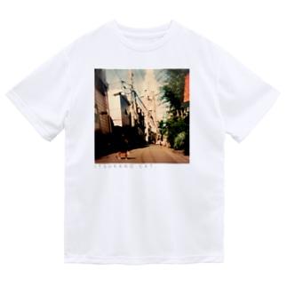 ITSUKANO CAT. Dry T-shirts