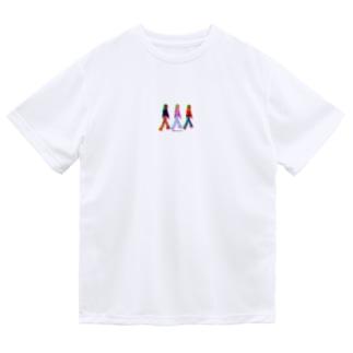 女の子たち ドライTシャツ