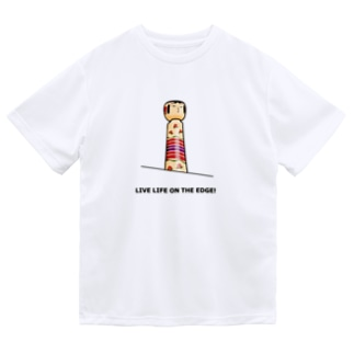 KOKESHI-nglish : LIVE LIFE ON THE EDGE! Dry T-shirts