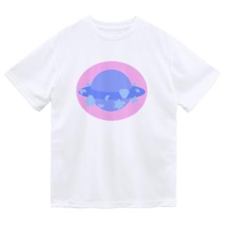 わくせいわい Dry T-shirts