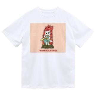 不動猫王 Dry T-shirts