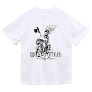"""""""HAPPY HOUR""""(B&W) #1 Dry T-Shirt"""