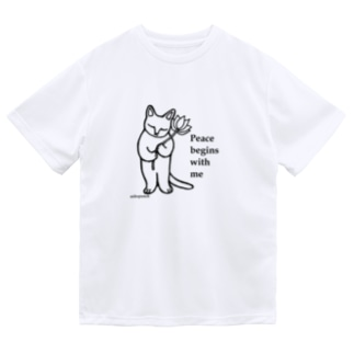Peace begins with me Dry T-shirts