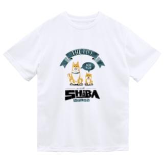 赤柴親子のいる生活 レトロ Dry T-Shirt