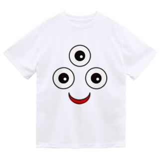 三つ目小僧 ドライTシャツ