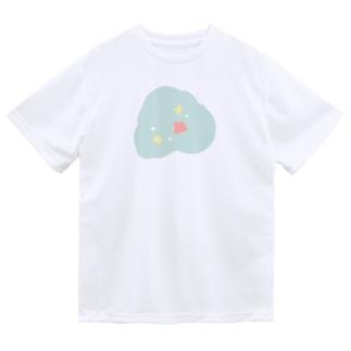 およぐメンダコさん ドライTシャツ