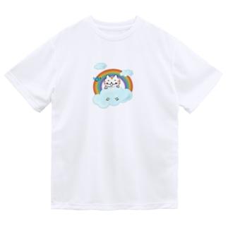 雲の上のねこちゃん Dry T-Shirt