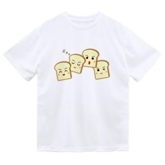 四つ切食パン ドライTシャツ