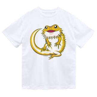 フトアゴちゃん Dry T-Shirt