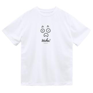 わいは!どんだば!あわいろ Dry T-shirts