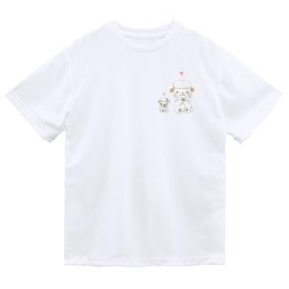 お祈り ひつじ ドライTシャツ