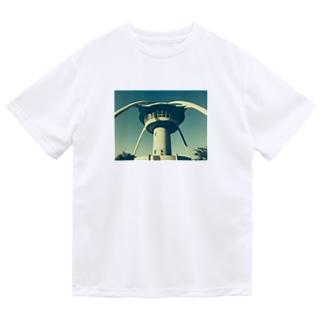 手柄ポート ドライTシャツ