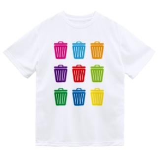 ゴミ箱 ドライTシャツ