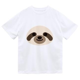 ナマケモノ ドライTシャツ