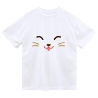 ネコ ドライTシャツ