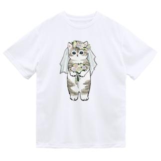 花嫁にゃん Dry T-Shirt