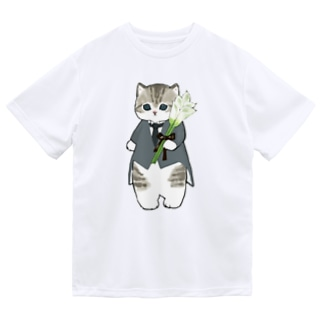 花婿にゃん Dry T-Shirt