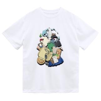 破壊の軌跡 ドライTシャツ