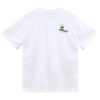 カマキリmini ドライTシャツ