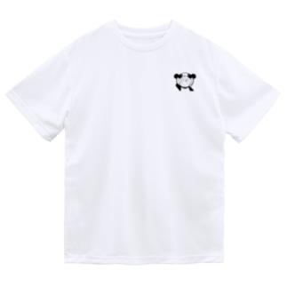 りとぱん モノクロ1 Dry T-Shirt