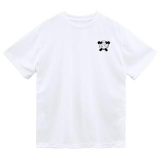 りとぱん モノクロ2 Dry T-Shirt