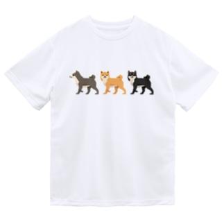 シバホリック(行進) Dry T-shirts