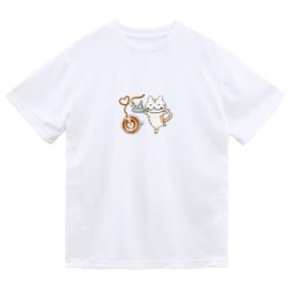 カフェねこちゃん Dry T-Shirt
