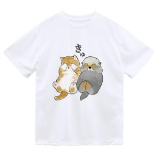 mofusandのきゅ。 ドライTシャツ