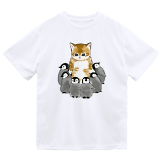 mofusandの完全防御 ドライTシャツ