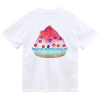 ベリーかき氷 Dry T-Shirt