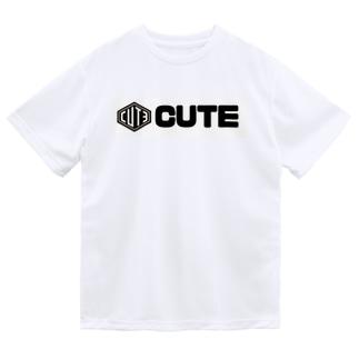 CUTE 太文字Tシャツ Dry T-Shirt