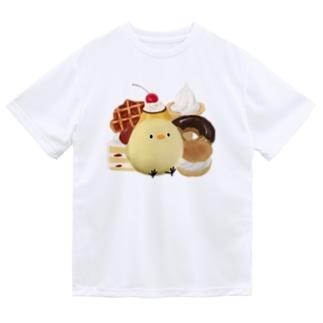 スイーツじょにー Dry T-shirts