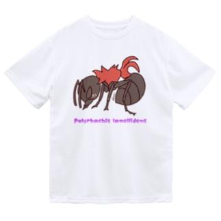 トゲアリちゃん【むしのなかま】 ドライTシャツ