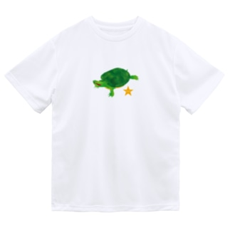 Love Turtle TypeA ドライTシャツ