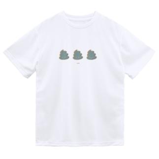 UNK-GrayBlue- Dry T-shirts