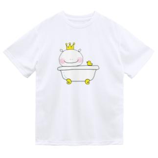 おうさまくんshopのおうさまくんお風呂 Dry T-Shirt