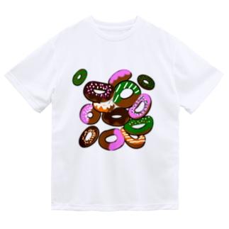 期間限定(ドーナッツ) ドライTシャツ