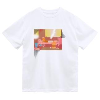 西日の部屋 Dry T-Shirt