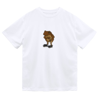 カエル(フォーマル) ドライTシャツ