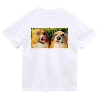 ちい むう ととろ Chi Mu Totoroのヤリキレナイ コーギー Dry T-Shirt