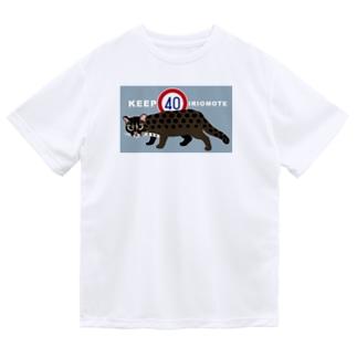 KEEP40IRIOMOTE水色・大きめ Dry T-Shirt