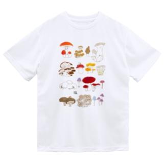 キノコ図鑑 Dry T-Shirt