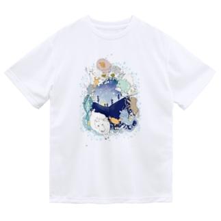 星座リース Dry T-shirts