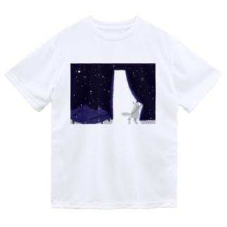 夜を抜け出す Dry T-shirts