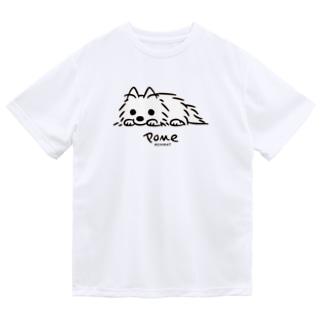 いつでも待機中 Dry T-shirts